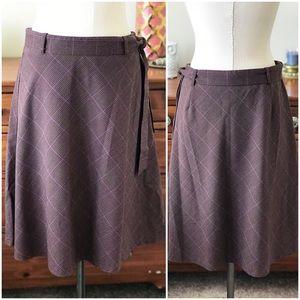 Bass plaid skirt